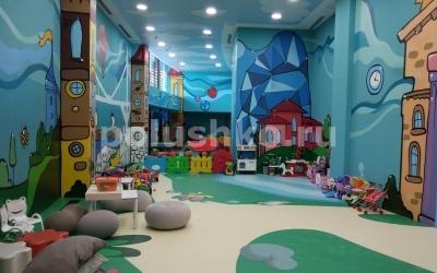 Отель Мрия Резорт & SPA, пол в детском клубе, Крым