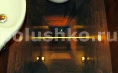 3д полы в туалете. Шахта лифта
