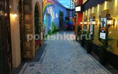 Наливные полы в гостинице Мрия, Ялта