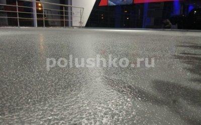 Полимерный наливной пол в салоне БМВ БорисХоф Балашиха