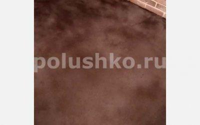 Лофт пол тонированный в черный цвет