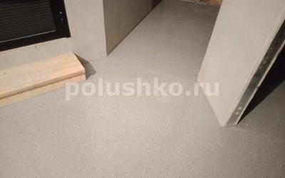 Заливной полимерный пол с флоками