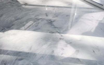 наливной пол мрамор