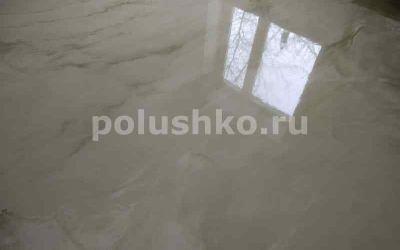 мраморный наливной пол