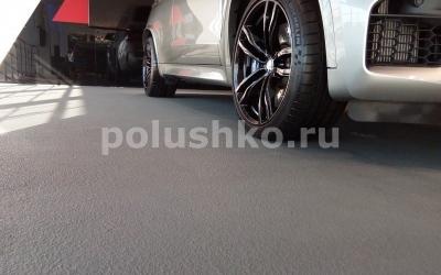 Эпоксидный наливной пол в автосалоне БМВ БорисХоф Балашиха