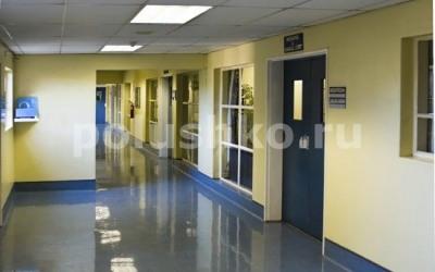 Наливной пол в больнице