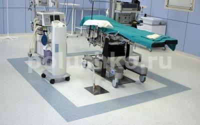 Наливные полы в операционой