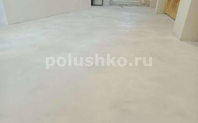 наливной пол с эффектом бетона
