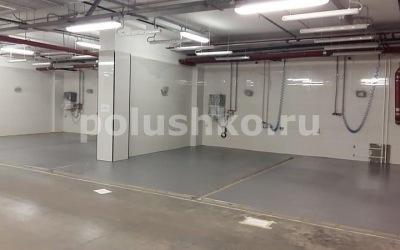 Полимерный пол на автомойке в Москве