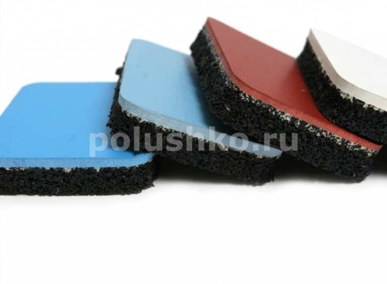 полиуретановый пол на резиновых матах