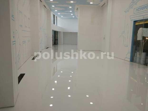 Наливной пол белый рал 9016 в гостинице Мрия Ялта Крым
