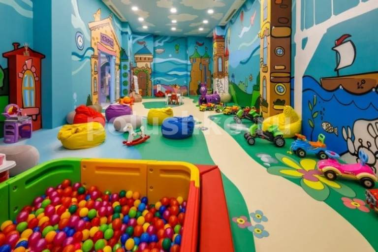 наливной 3д пол мрия детский клуб