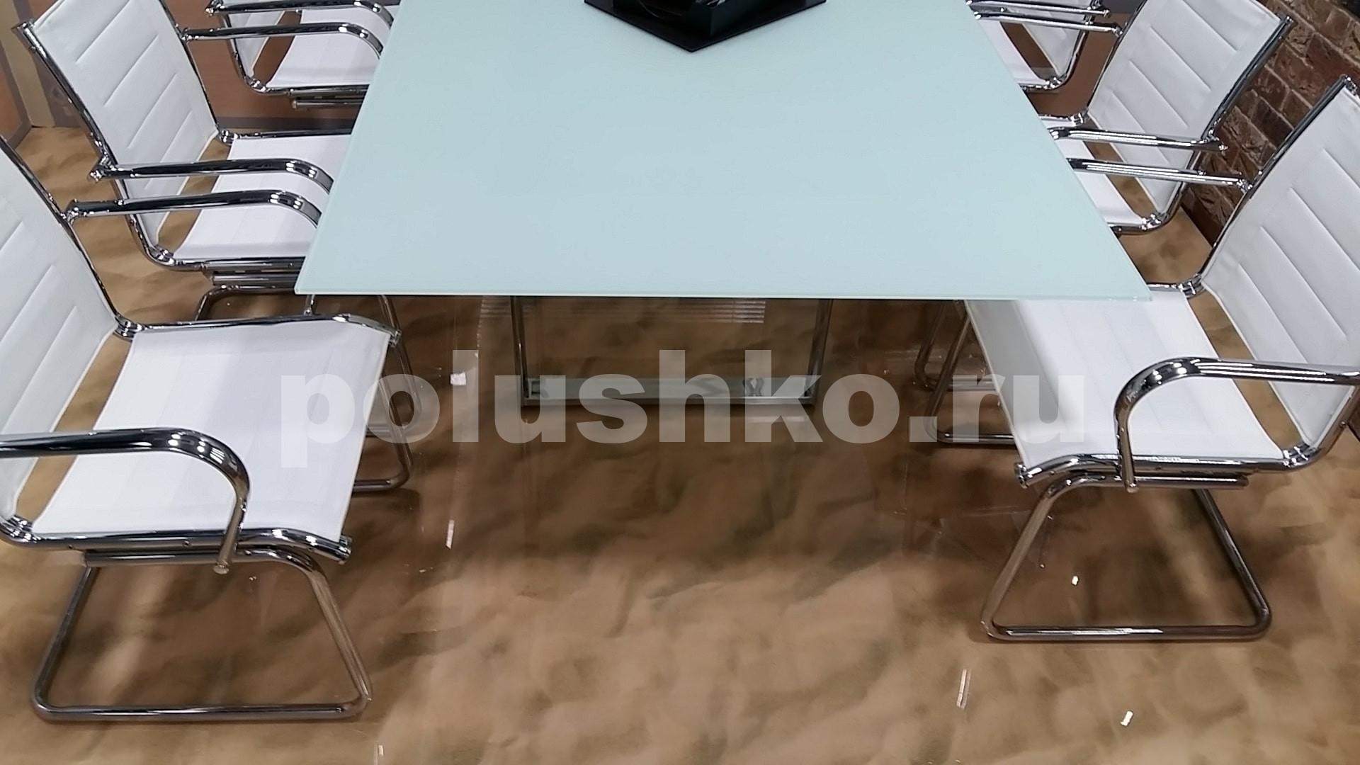 3д пол песок в офисной переговорной