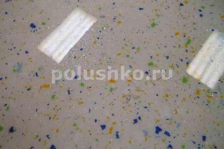 Наливные полы с чипсами, флоками и блестками