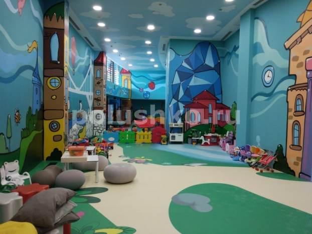 3д наливные полы в детской комнате, Мрия, Ялта, Крым
