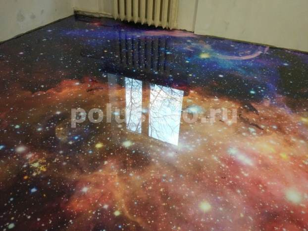 космический пол