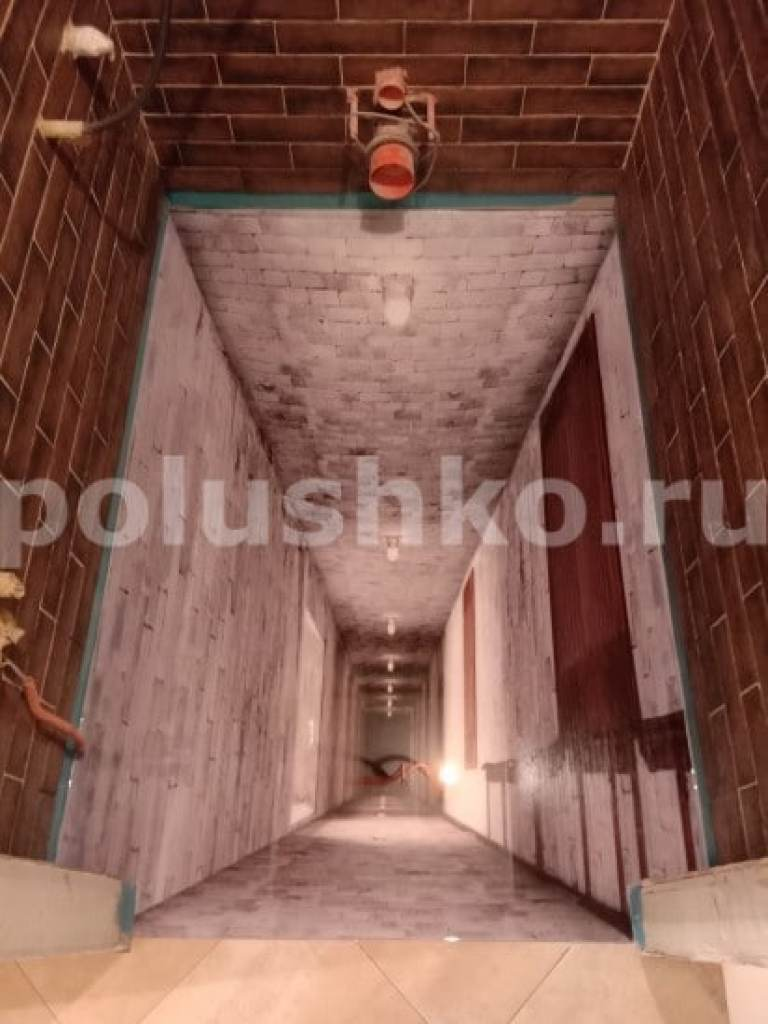 пол 3д в туалете шахта Реутов