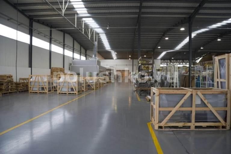 Промышленный наливной пол на складе