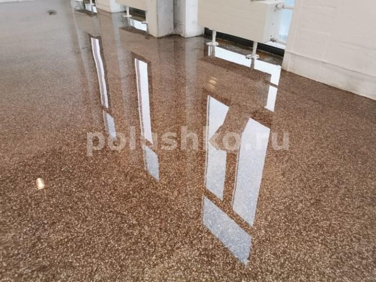 наливной пол терраццо прозрачный бетон