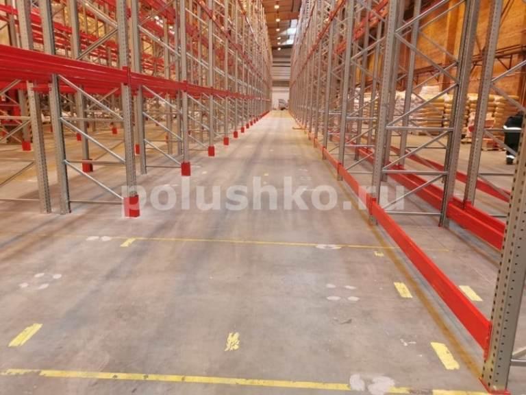 ремонт полов на складе Серпухов