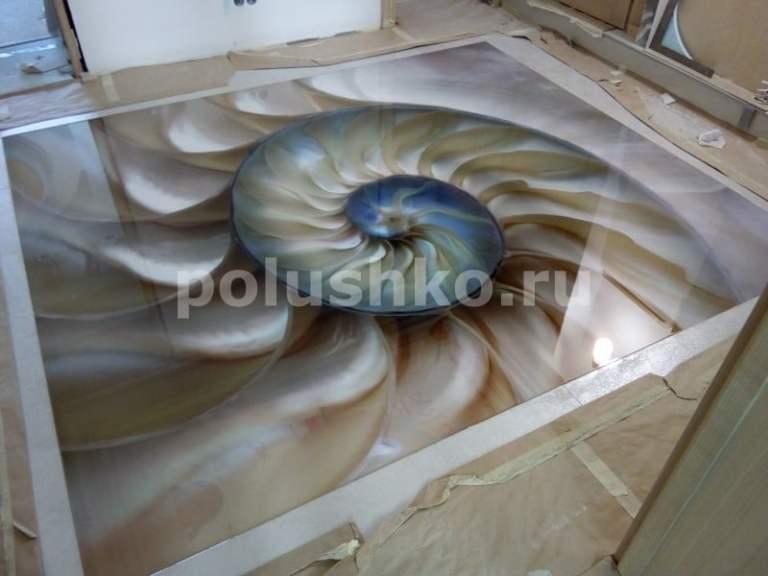 3d полы с ракушкой в Севастополе