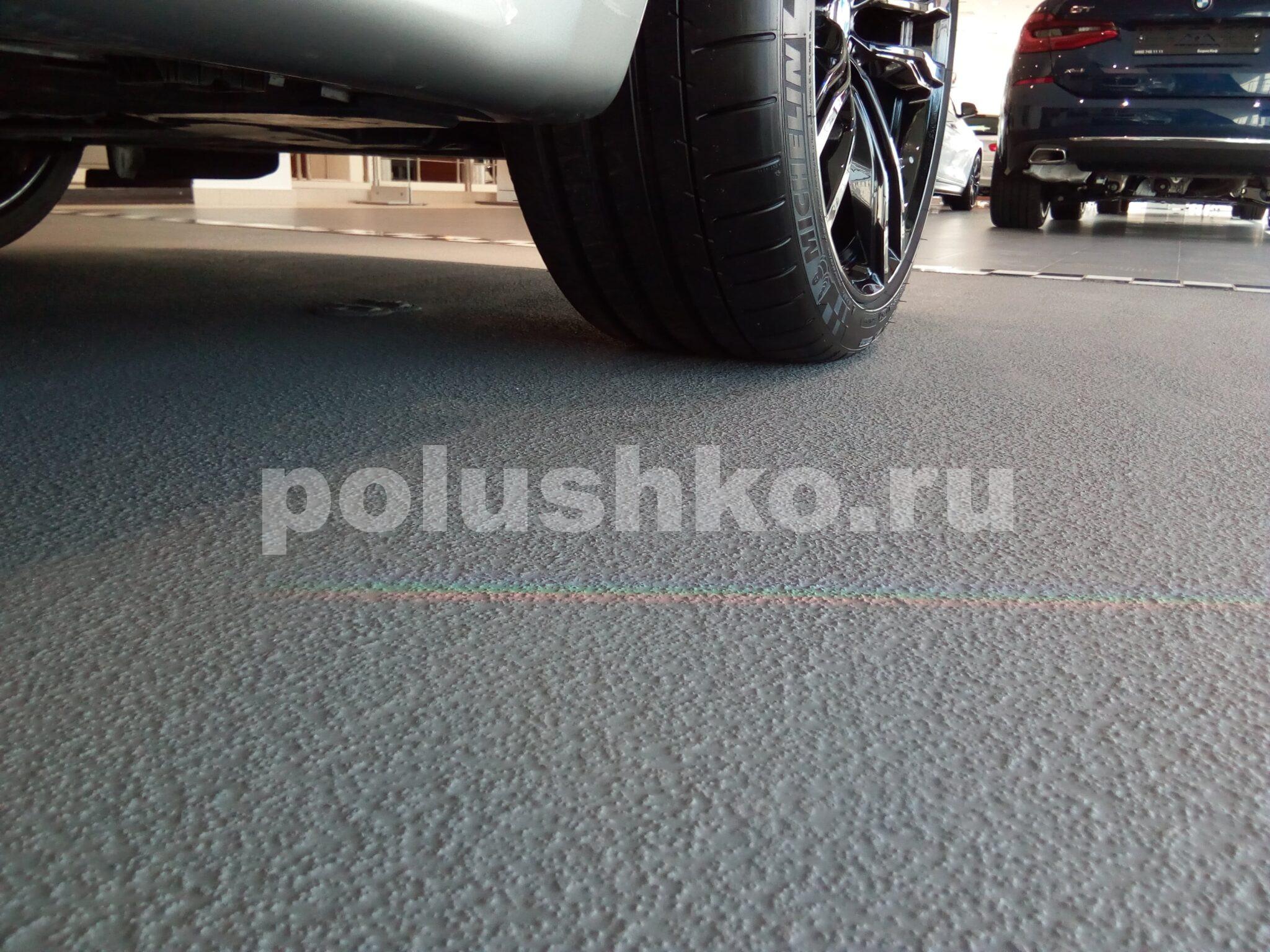наливной пол эпоксидный в автосалоне БМВ Балашиха